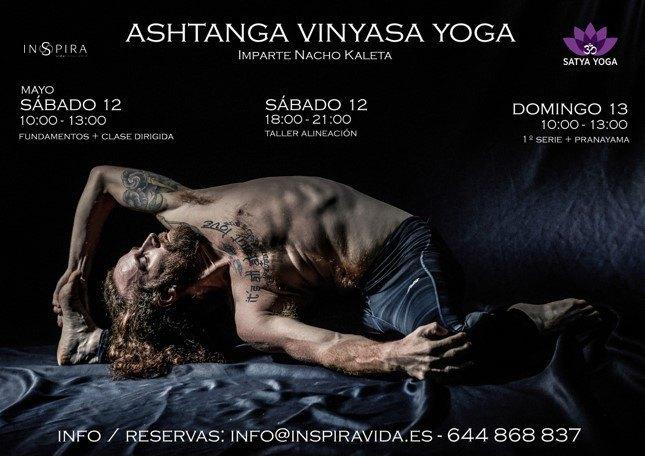 Ashtanga Yoga Nacho Kaleta en Inspira